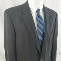 Joseph & Feiss 42 R 2 Button Cashmere Blend Gray Sport Coat Blazer Suit Jacket