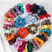 60pcs Hair Scrunchies Velvet Elastic Hair Bands Scrunchy Hair Ties Girls Multi