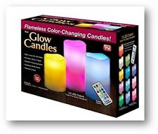 5 PC LED Flameless Candles Color Changing w/ Remote Glow US