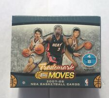 2007-08 Trademark Moves NBA Hobby Box 4 Autos & 8 Relics  Kevin Durant Rookie?