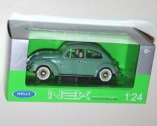 Welly - VW Volkswagen BEETLE (1959) Green - Die Cast Model Scale 1:24