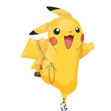 Pokémon Pikachu con forma globos de Papel Aluminio XL 62cmx78cm Cumpleaños