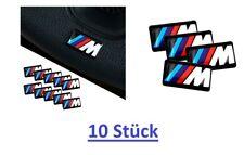 10xBMW M Power Alu Felgen Emblem Aufkleber Logo Sticker Tacho Lenkrad 3D neu BMW