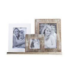 Deko-Bilderrahmen-Collagen aus Holz mit Familie- & Freunde-Thema