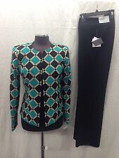 "Kasper Pant Suit /NEW WITH/RETAIL$240/SIZE 10/INSEAM 32""/INSEAM 32""/"