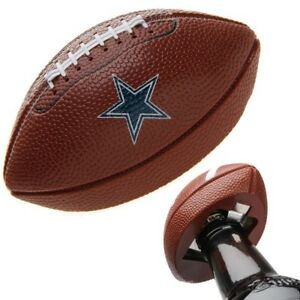 NFL Dallas Cowboys Decal Football Hand Held (LOT OF 2)