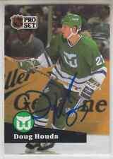 Autographed 91/92 Pro Set Doug Houda - Whalers