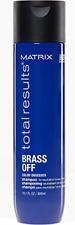 Matrix | Total Results | Brass Off | Brunette Toning Blue Shampoo | For Brunette
