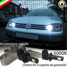ABBAGLIANTE LED VW GOLF IV 4 LAMPADE LED H1 6000K NO ERROR 6400 LUMEN