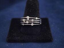 10K White Gold Diamond Ring .50ct TDW Size 7