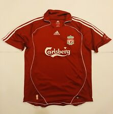 Adidas Liverpool Reds Maglia Calcio Vintage Inghilterra Taglia L Calsberg