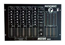 Façade / Frontplate NEUVE pour table de mixage RODEC MX180 MKIII / MX180MKIII