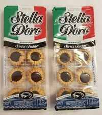 Stella D'oro Swiss Fudge Cookies QTY 2 - 8 oz Packages A Delicious Sweet Treat!