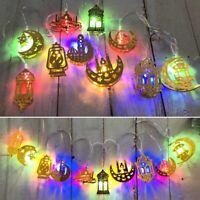 10/20 LED Ramadan and Eid LED String Fairy Light Islamic Party Decor Supplie HOT