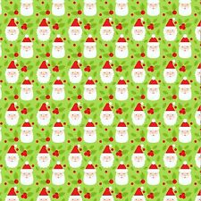 Tela impresa arco A4 Navidad Sombrero De Santa Claus Ivy CM8 hacer Brillo Arcos