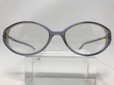 Genny Eyeglasses 326 9382 53-16-130 Translucent Blue #86