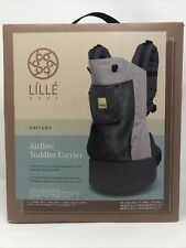 NEW LiLLEbaby CarryOn Airflow 3-in-1 Ergonomic Toddler Carrier Charcoal/Silver