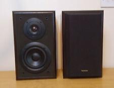Technics SB-CA01A 2 Way Speaker System 100W Input 50W Music 6 Ohm Dark Brown