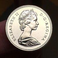 1970 Canada 50 Cents, Queen Elizabeth II, KM# 75.1, UNC.