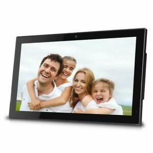 "Sungale 19"" WiFi Cloud Digital Photo Frame,Front Camera, Remote Control, CPF1903"