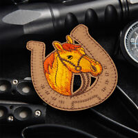 Horse Animal Embroidered Iron on Sew On Patch Badge Fabric Craft Sticker Clothes