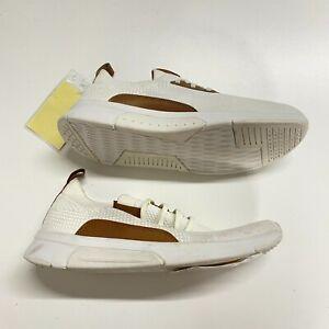 Skechers Shoes Men's 9 White Lace Up Factory Sample Mark Nason Mesh Sneakers