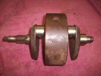 BSA  ENGINE CRANKSHAFT WITH WEIGHT  oem E3712        A437