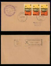Mayfairstamps Singapore 1969 M5 First Flight Anniversry England to Australia Cov