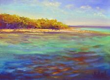 Original oil painting - Lady Musgrave Island QLD