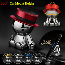 Magnetic Car Mount Dashboard Cell Phone Stand Holder 360°Rotation Dash Hat man