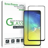 For Samsung Galaxy S10e - amFilm Full Cover Tempered Glass Screen Protector