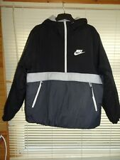 Nike Pull On Padded Waterproof Jacket Coat *Size L* Excellent Condition
