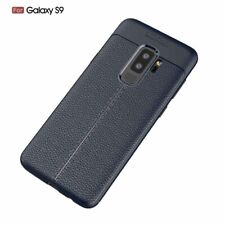 Samsung Galaxy S9 Auto Focus Ultimate Protective Rubber Phone Case   Navy Blue