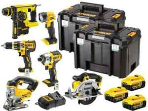 Dewalt DCK699M3T 18V 6 Piece Cordless Kit (3 x 4Ah Batteries)