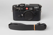Leica M6 0.85 TTL 35mm Rangefinder Film Camera Body, Black.