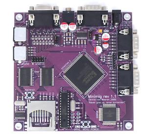 Amiga MiniMig 1.1 Purple - FPGA Amiga 500+ with real 68000CPU - 50MHz!, SuperPIC
