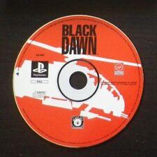 JEU Sony PLAYSTATION PS1 PS2 : BLACK DAWN (hélicoptère LOOSE envoi suivi)