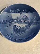 New Listing1969 Bing & Grondahl B&G Christmas Plate Copenhagen Denmark, Euc