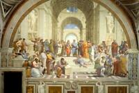 Raphael The School of Athens Art Print Mural Poster 36x54 inch