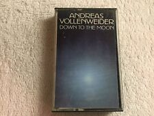 Andreas Vollenweider - Down to the Moon -Cassette Tape +Insert -1986 AVAF/CBS #A