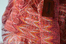 MISSONI Long Zigzag Signature  Scarf  / Shawl  MADE IN ITALY new Womens gift