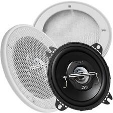 JVC CS-J420X 10cm Lautsprecher Paar Wand / Deckenlautsprecher Gitter weiss