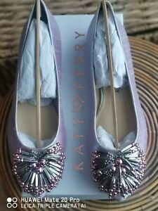 Katy Perry violet iridescent the Ryann shoes flats size 5 brand new