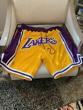 Just Don Shorts (LAKERS) SIZE XL JUST DON - W/ Original Receipt
