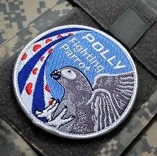 F-16 FIGHTING FALCON SWIRL νeΙcrο SSI: Dutch KLu RNLAF 322nd Sqn Polly Parrot