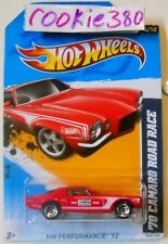 2012 Hot Wheels HW PERFORMANCE #144 * '70 CAMARO ROAD RACE * RED CHAMPION
