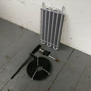 """1900-27 Early Cars 6-Row 13"""" Transmission Trans Oil Cooler hot rod gm gm ford V8"""