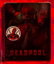 Deadpool Lenticular Limited Edition Steelbook (Blu-ray + DVD + Digital HD )