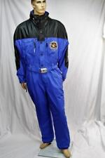 Bogner Men's winter faux leather polyamide nylon ski suit Us 46 Made in the Usa