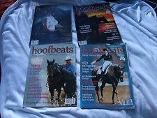 HOOFBEATS RIDING TRAINING HORSEKEEPING 4 MAGAZINES Vol 23 No 6 Vol 24 No 1 2 3